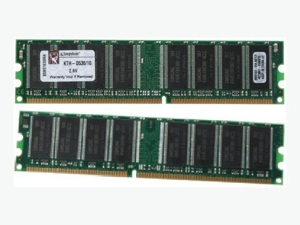 4x 1GB + 6x 512MB DDR PC3200 Desktop RAM.