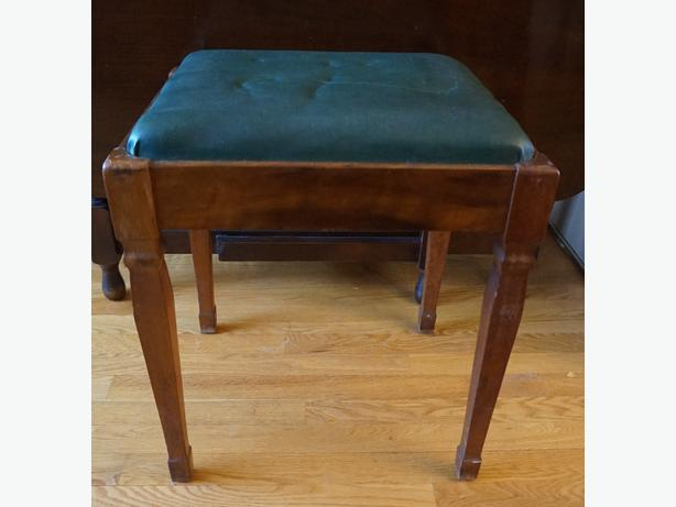 4u2c VINTAGE SEWING MACHINE OR PIANO STOOL