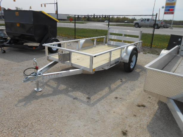 2016 Stronghaul 5X10 Aluminum Rail Side Utility Trailer HH3989