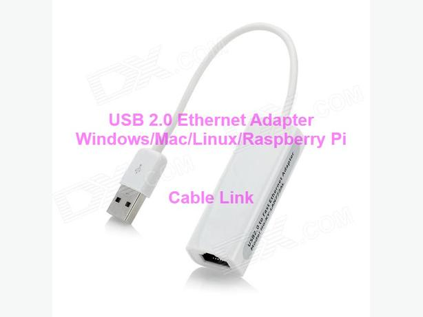 USB 2.0 Ethernet 10/100 M RJ45 Network Lan Adapter (Windows, Mac