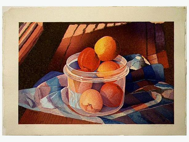 ·  Mary Pratt - Peaches