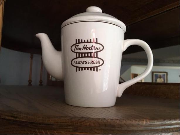 Like new Tim Hortons Tea Pot