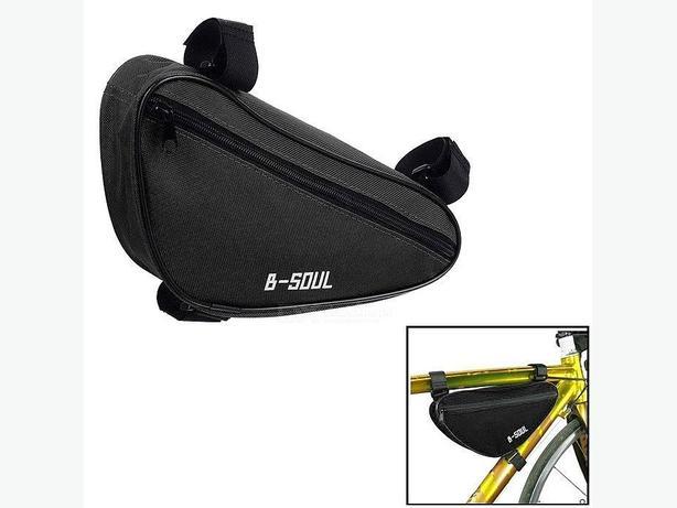 Bicycle Bike Frame Top Tube Triangle Bag 1.5L - Black