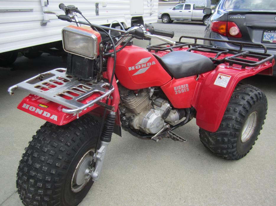 1985 Honda Big Red Es 250 Outside Comox Valley Comox