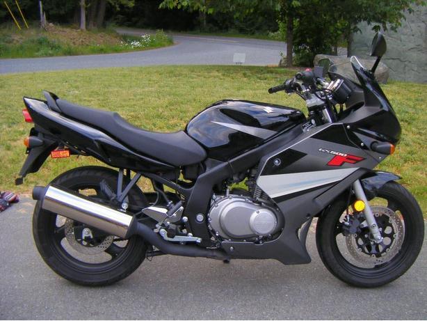 Suzuki GS 500f 2009
