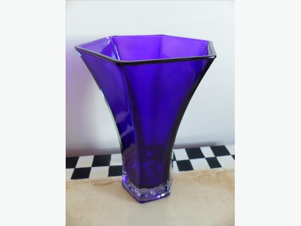 Hoosier Vintage Amethyst Vase North Saanich Sidney Victoria