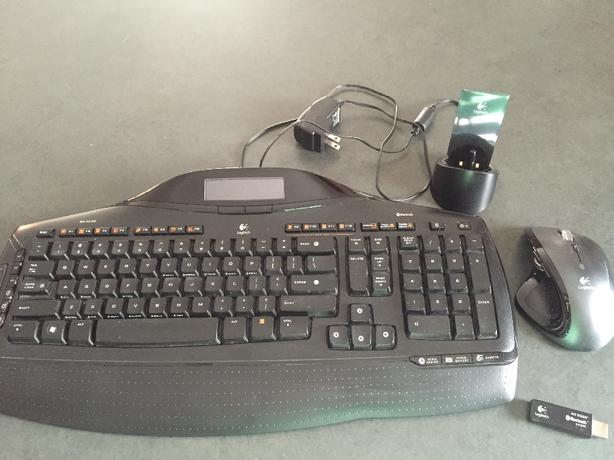 Logitech MX5500 keyboard and mouse combo