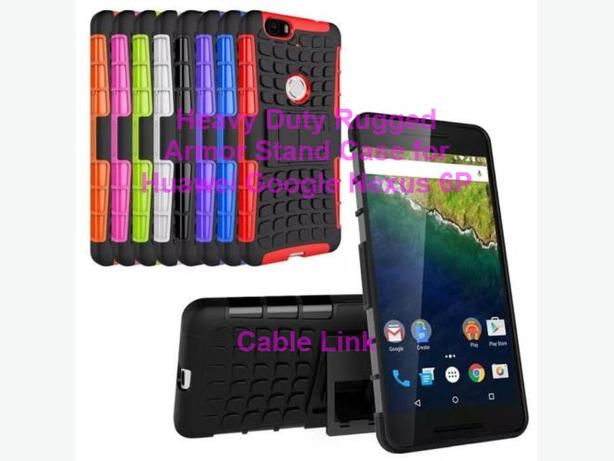 Rugged Heavy Duty Hybrid Stand Case For Huawei Google Nexus 6P