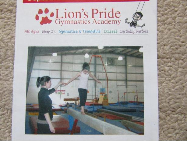 Lion's Pride Gymnastics $50 GC