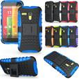 Rugged Armor Heavy Duty Hybrid Stand Case for Motorola Moto G