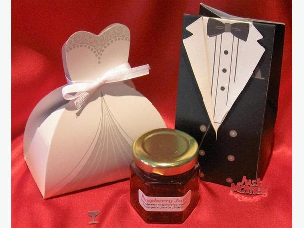 Wedding Favors Home Made Jam  Gift Baskets
