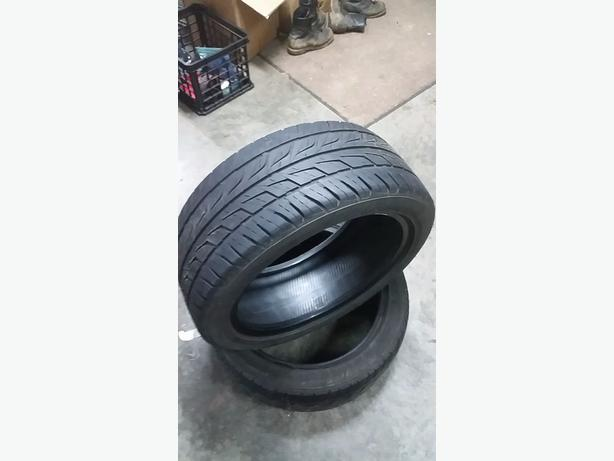 2 Bridgestone Potenza tires