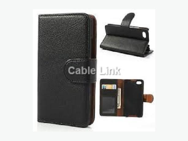 New Flip PU Leather Wallet Case For Blackberry Q5