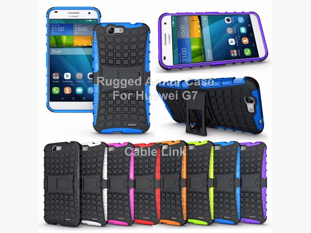 New Rugged Armor Heavy Duty Hybrid Case for Huawei G7