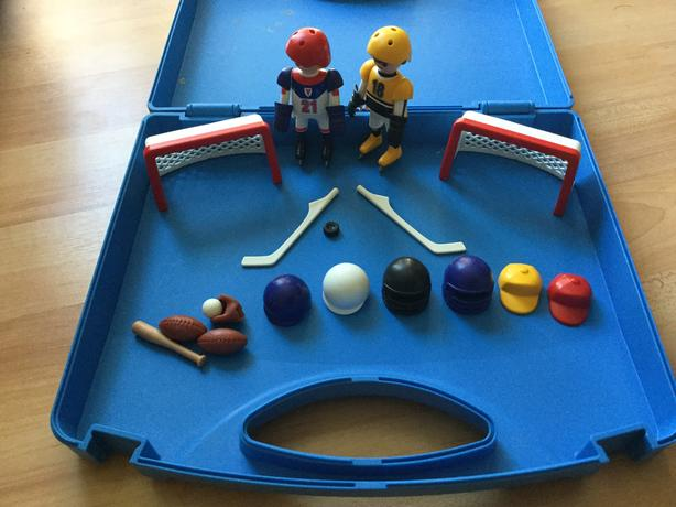 Playmobil multi sport carrying case