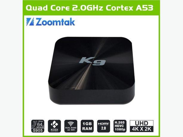 Zoomtak K9 Quad Core 2.0Ghz Android TV Box (Price Reduced)