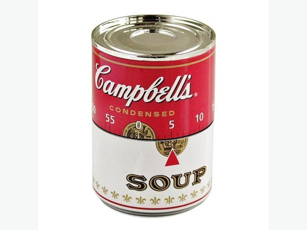 Campbell's Soup Can 60-Minute Kitchen Timer