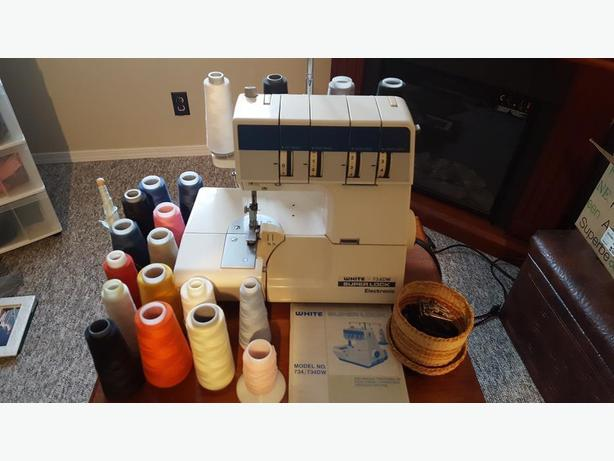 WHITE 734DW Superlock Electronic Serger
