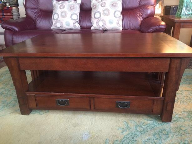 Traditional Mission Style Arts Crafts Coffee Table West Shore Langford Colwood Metchosin