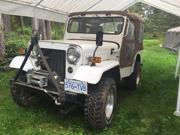 RARE Mitsubishi Jeep Willy 4x4!