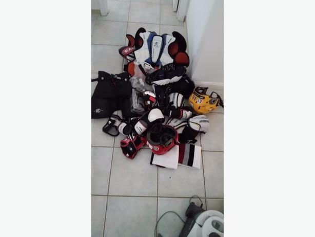 used and new hockey equipment