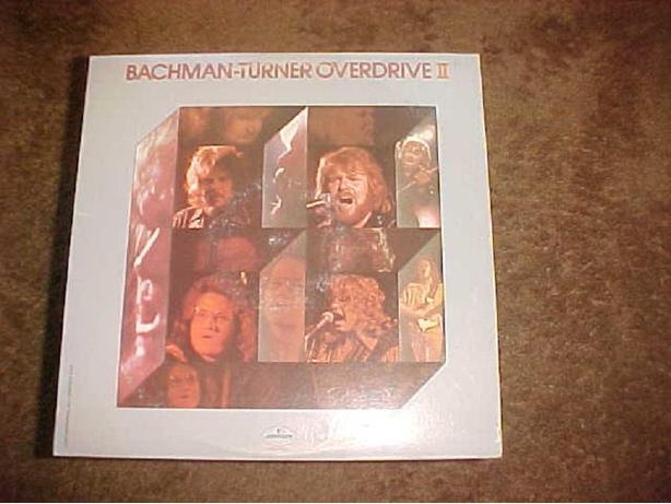 BACHMAN TURNER OVERDRIVE II VINYL LP