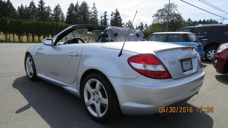 2007 Mercedes Benz Slk 350 Roadster Convertible Outside