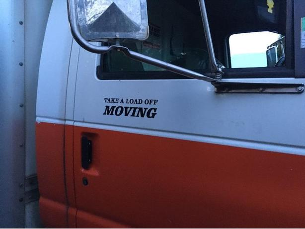 Take A Load Off Moving LTD