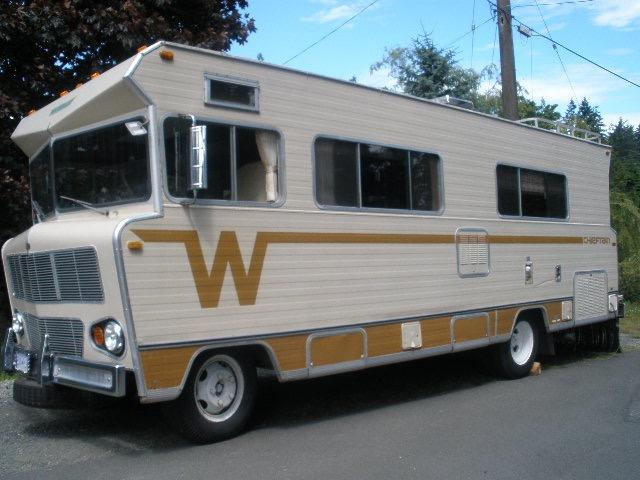 1973 Winnebago Chieftain Project Sooke Victoria
