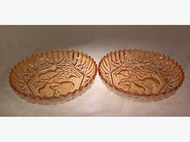 Federal Pioneer dessert bowls