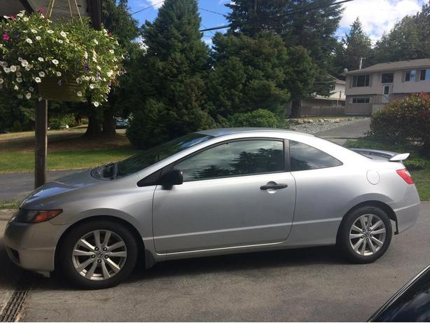 2007 2 Door Honda Civic *Great Condition* *Low KMS* *REDUCED*