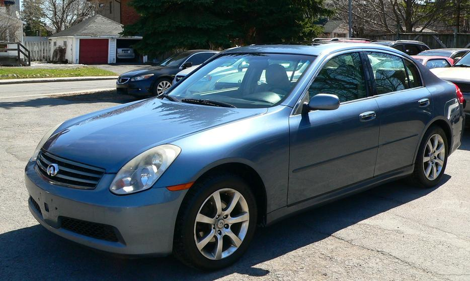 Infiniti G35x Full Option In Excellent Shape Must Be Seen