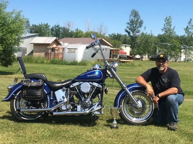 1948 homebuild Harley Davidson