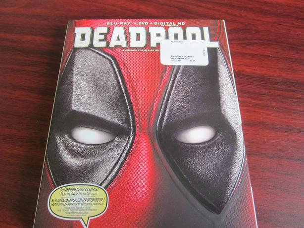 deadpool blu-ray + dvd + digital hd