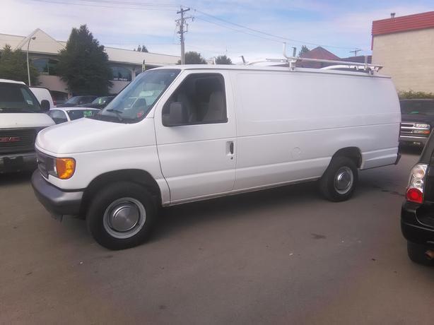 2006 Ford E250 Extended Cargo Van.