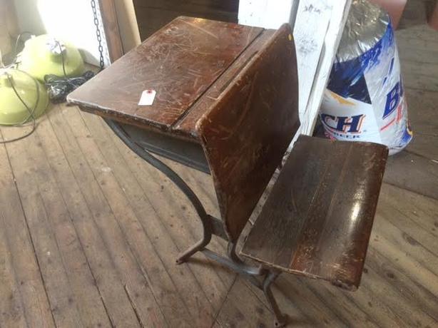 antique school desk honda turbo walker
