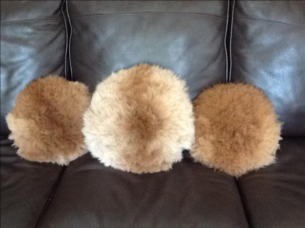Three Alpaca Pillows
