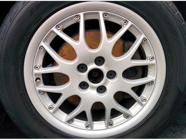 4 BBS Mags with 4 Continental ExtremeContact DW Sport tires.