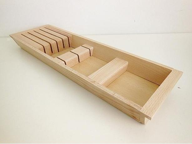 Ikea RATIONELL Knife Tray - Beech