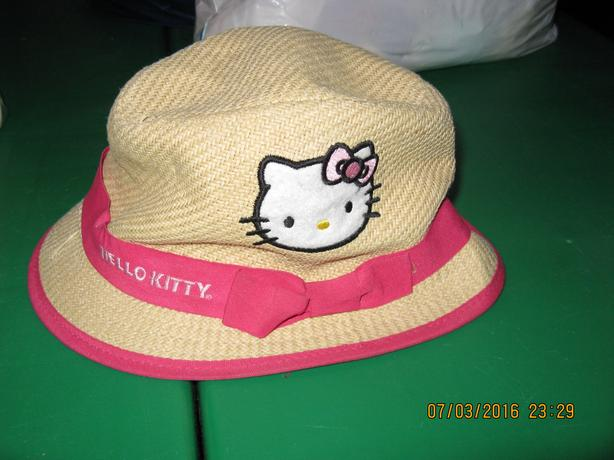 Hello Kitty toddler fedora hat