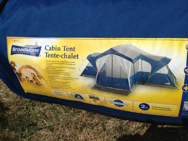 Broadstone 15 person cabin tent - perfect condition! & Broadstone 15 person cabin tent - perfect condition! Oak Bay Victoria