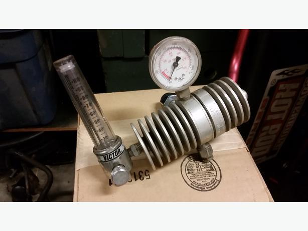 Victor SR311 CO2 Flow Meter