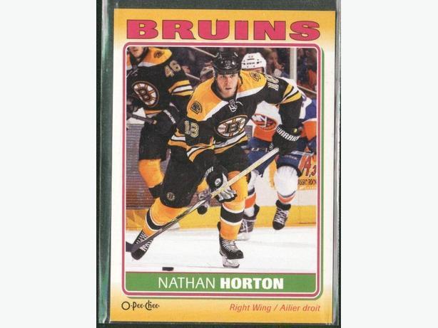 2012-2013 O Pee Chee Sticker Nathan Horton Bruins