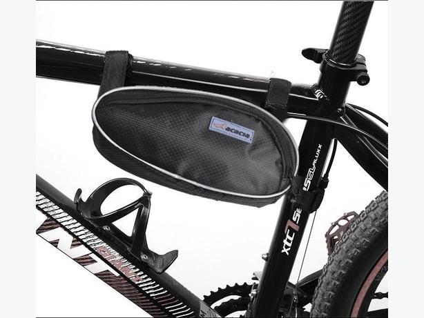 Bicycle Bike Frame Top Tube Triangle Bag 1.5L - Black