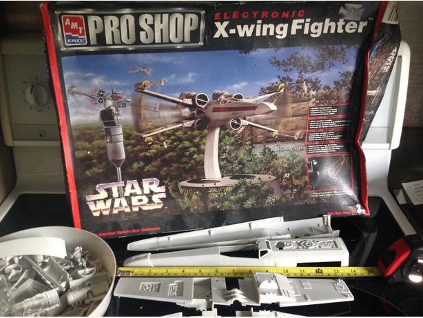 X-wing fighter electronic edition