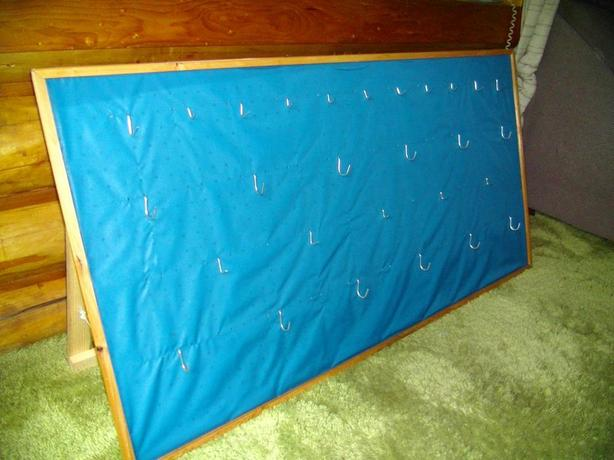 Free Standing Peg Board Display Stands