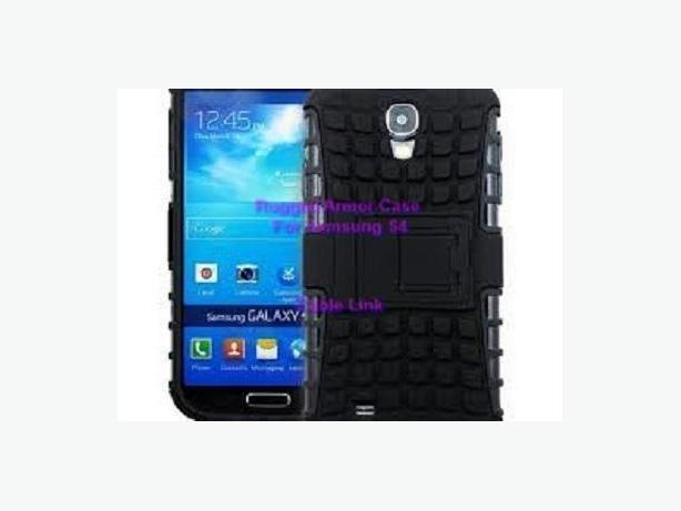 Rugged Heavy Duty Hybrid Case For Samsung Galaxy S4