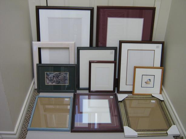 FRAMES USED MISC. PRICES + SIZES