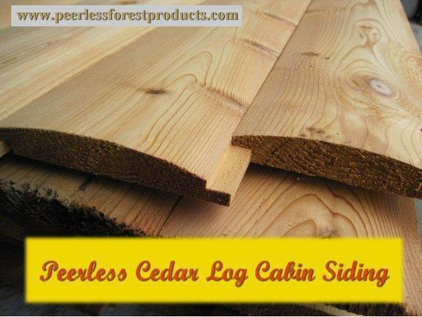 Peerless Log Siding and Paneling - Whistler, British Columbia