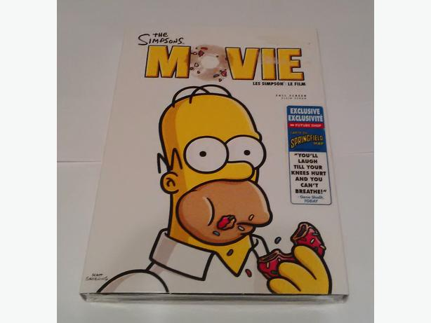 The Simpsons Movie DVD (MINT in shrink wrap)